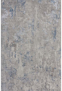 Ash Contemporary Abstract Rug