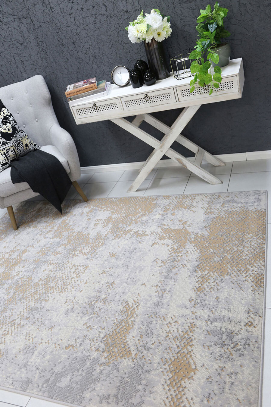 Emma Modern Abstract Rug(Size 230 x 160cm)