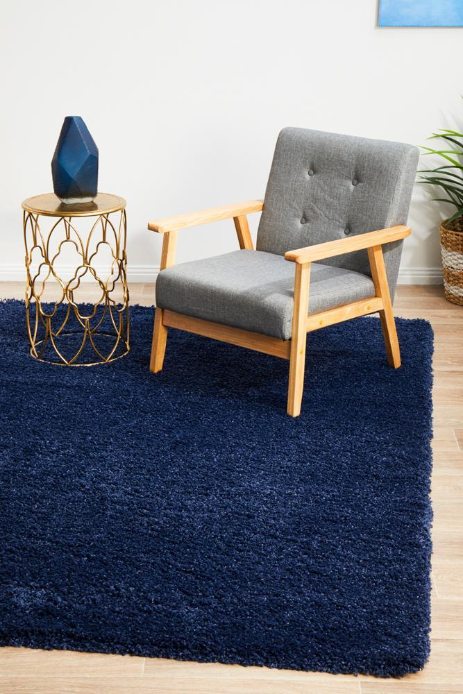 Love Thick Denim Shaggy Rug(Size 150 x 80cm)