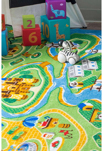 Kids Road Marine Rug