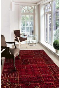 Afghan AN3081-Red